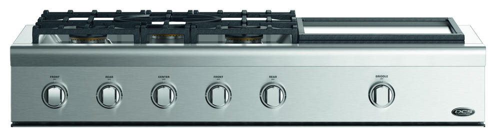 Surfaces de cuisson à gaz DCS CPV2-485GD