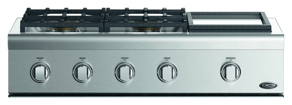 Surfaces de cuisson à gaz DCS CPV2-364GD