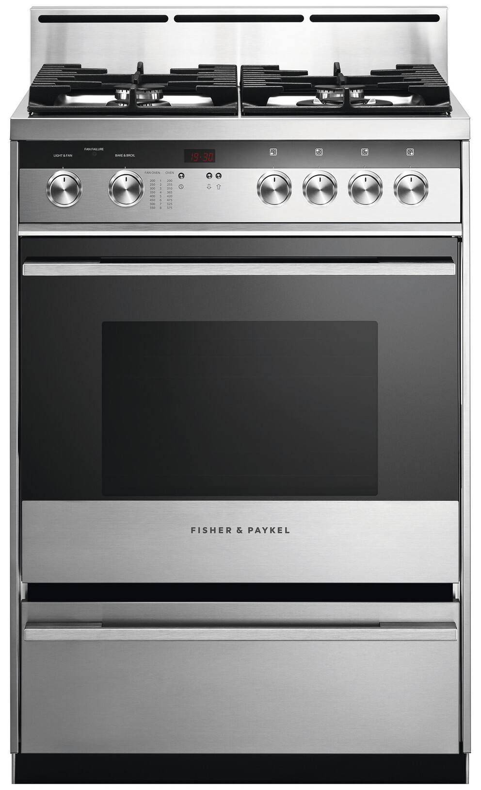Gas Ranges Fisher&Paykel OR24SDMBGX2-N