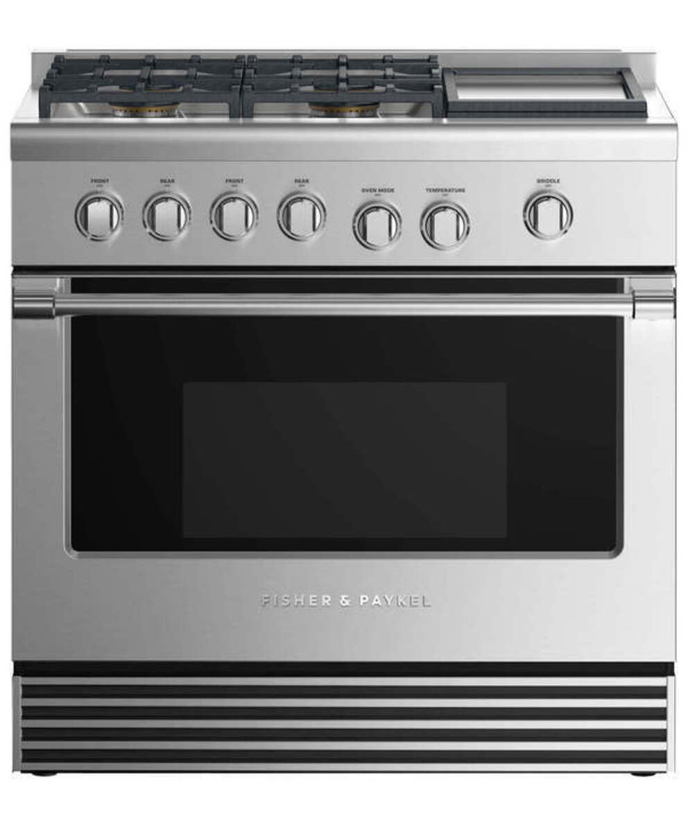 Gas Ranges Fisher&Paykel RDV2-364GDN-N