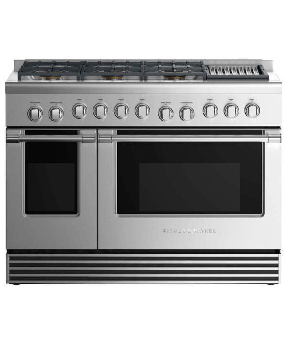 Gas Ranges Fisher&Paykel RDV2-486GLN-N