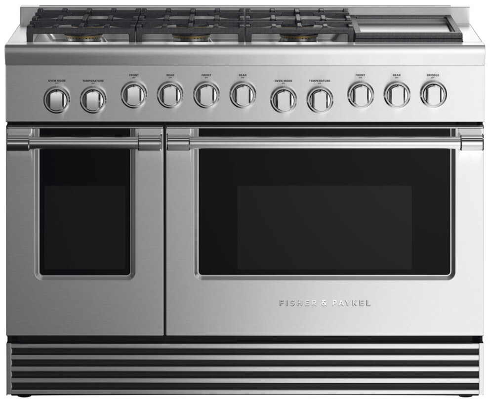 Gas Ranges Fisher&Paykel RDV2-486GDN-N