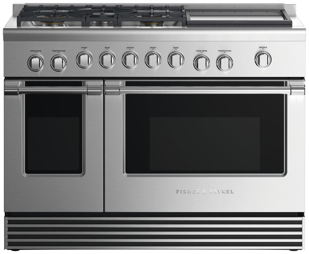 Gas Ranges Fisher&Paykel RDV2-485GDN-N