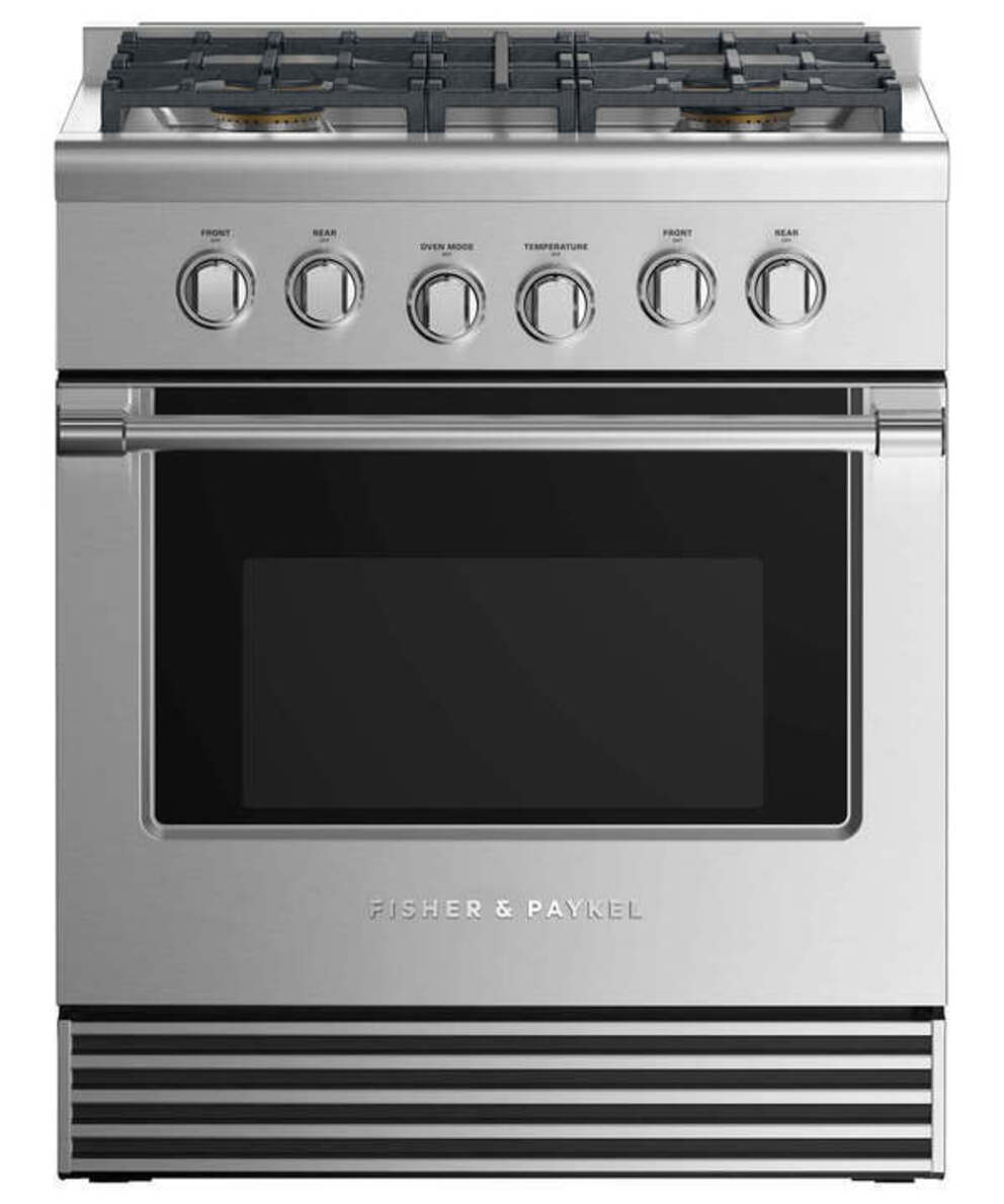 Gas Ranges Fisher&Paykel RGV2-304L-N