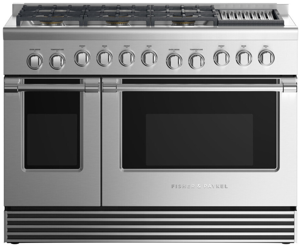 Gas Ranges Fisher&Paykel RGV2-486GLN-N