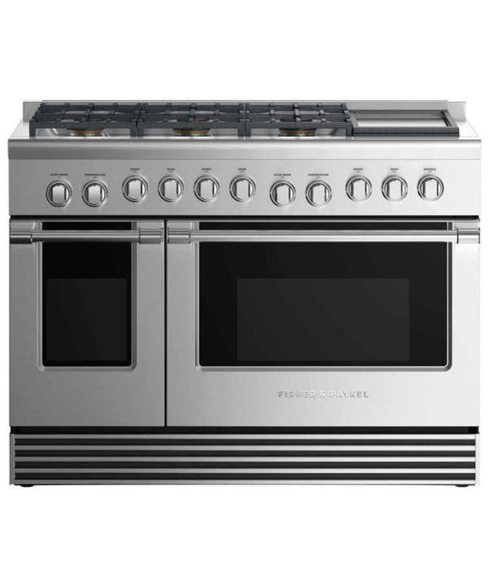 Gas Ranges Fisher&Paykel RGV2-486GDL-N